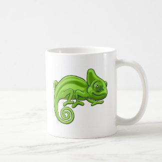 Personnage de dessin animé de caméléon mug