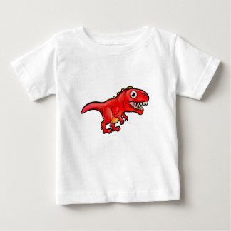 Personnage de dessin animé de dinosaure de Rex de T-shirt Pour Bébé