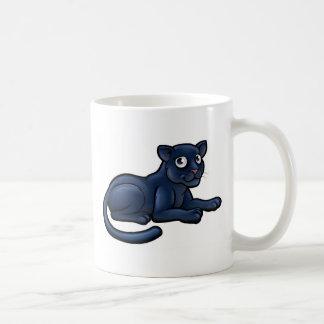 Personnage de dessin animé de panthère noire mug