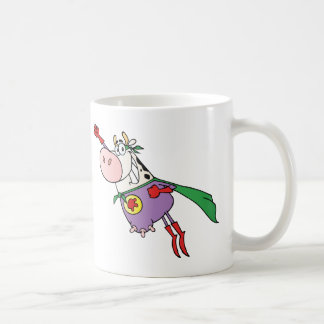 Personnage de dessin animé superbe de vache mug