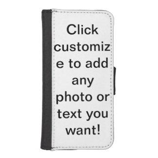 personnalisable coques avec portefeuille pour iPhone 5