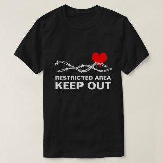 Personnalisable romantique drôle de secteur t-shirt