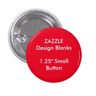 """Personnalisé 1,25"""" petits modèles ronds de Pin de Badge"""