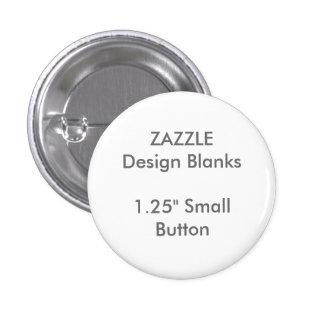 """Personnalisé 1,25"""" petits modèles ronds de Pin de Badges"""