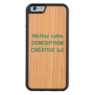 Personnalisé de l'iPhone 6 d'Étui Coque iPhone 6 Bumper En Cerisier