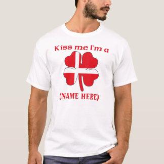 Personnalisé embrassez-moi que je suis T-shirt