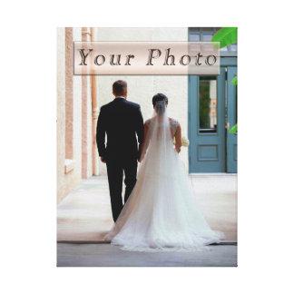 Personnalisé épousant la toile de photo toiles