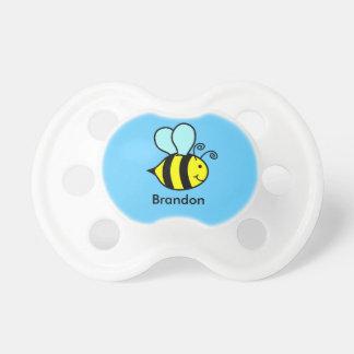 Personnalisé gaffez la tétine d'abeille