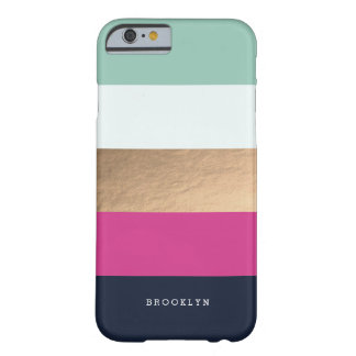 | personnalisé Heues lumineux Coque Barely There iPhone 6
