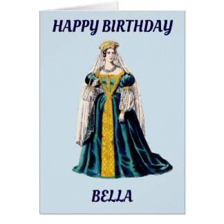 ~ personnalisé par BELLA~ de carte d'anniversaire