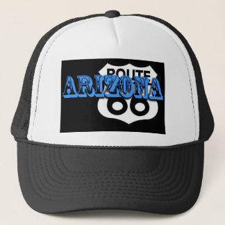 Personnaliser bleue de l'itinéraire 66 de casquette