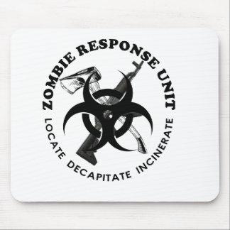 Personnaliser de cadeaux d'équipe de réponse de ca tapis de souris