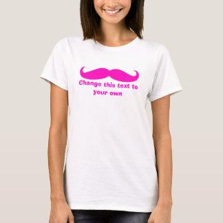 Personnaliser de moustache il t-shirt