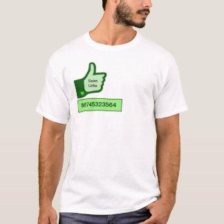 Personnaliser de T-shirt de popularité de jour de