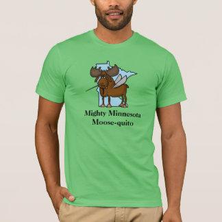 Personnaliser de T-shirt d'orignaux de moustique