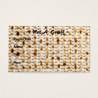 Personnaliser juive de ~ de carte de visite de