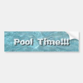 Personnalisez : Abrégé sur l'eau de piscine Autocollant De Voiture
