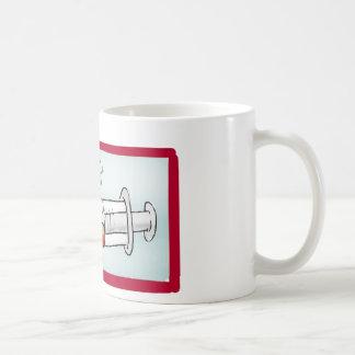 Personnalisez avec le nom - l'infirmière superbe mug blanc