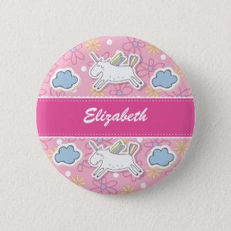 Personnalisez, insigne de licorne badges
