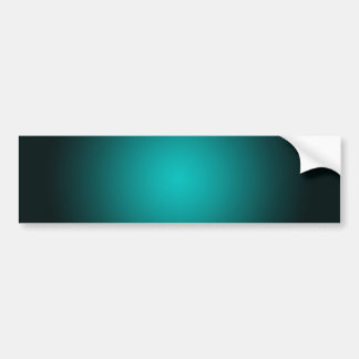 Personnalisez - l'arrière - plan turquoise de autocollant de voiture
