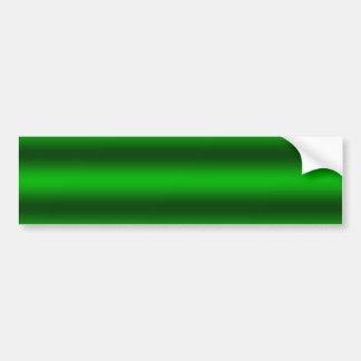 Personnalisez - l'arrière - plan vert de gradient autocollant de voiture
