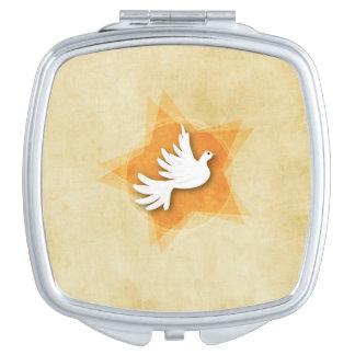 Personnalisez le cadeau Coll de félicitations de Miroir Compact