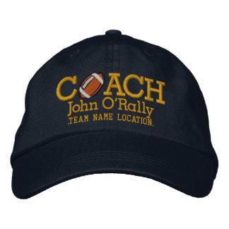 Personnalisez le casquette d'entraîneur de