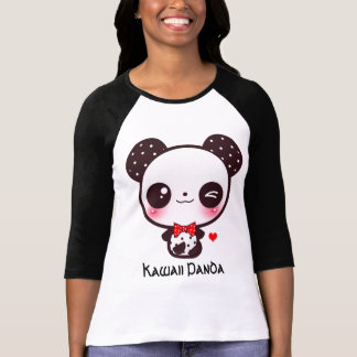 Personnalisez le panda de Kawaii T-shirt