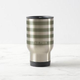 Personnalisez le voyage contemporain moderne de mug de voyage