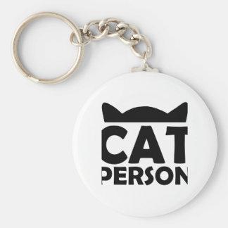 Personne de chat