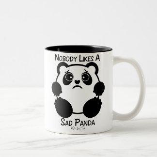 Personne n'aime un panda triste tasse à café