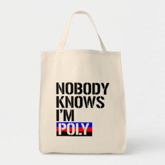 Personne ne sait que j'ai poly - - raison de LGBTQ Sacs Fourre-tout