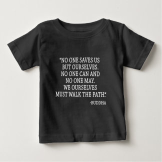 Personne sauve nous mais nous-mêmes t-shirt pour bébé