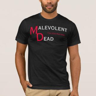 personnel mort malveillant t-shirt