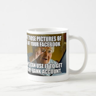 Personnes âgées ! mug blanc