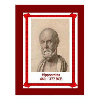 Personnes célèbres, Hippocrate, Carte Postale