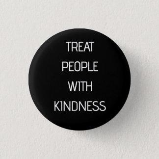 Personnes de festin avec la gentillesse badges