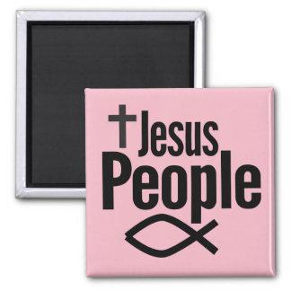Personnes de Jésus aimant de carré de 2 pouces