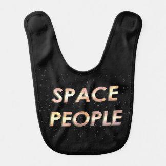 Personnes de l'espace - le bavoir !