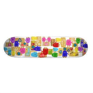 Personnes de paix skateboard 19,7 cm