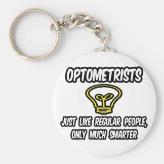 Personnes régulières d'optométristes…, seulement porte-clé rond