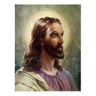 Personnes religieuses vintages, portrait de Jésus- Carte Postale
