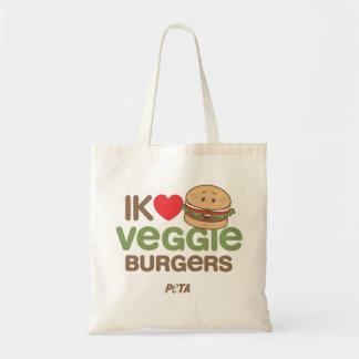 PETA me (love] veggie citoyens Sac Fourre-tout