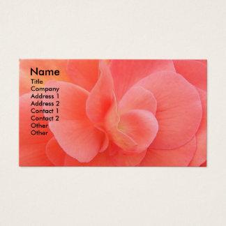 Pétales de fleur floraux cartes de visite