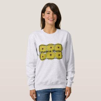 Pétales et sweatshirt d'épines