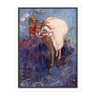 Peter Pan et Wendy par Alice B. Woodward Carte Postale