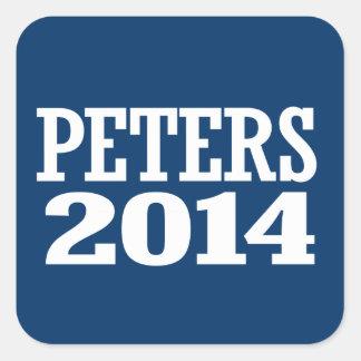 PETERS 2014 STICKERS CARRÉS