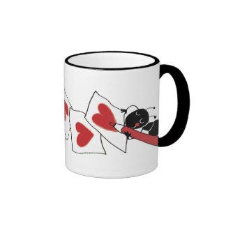 petit amour de fourmi mug ringer