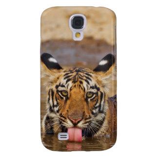 Petit animal de tigre royal de Bengale, eau Coque Galaxy S4