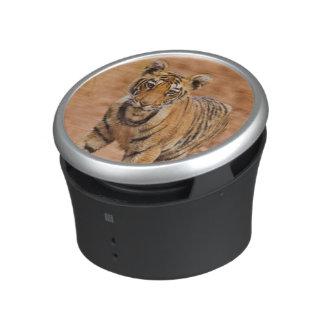 Petit animal de tigre royal de Bengale sur le Haut-parleur